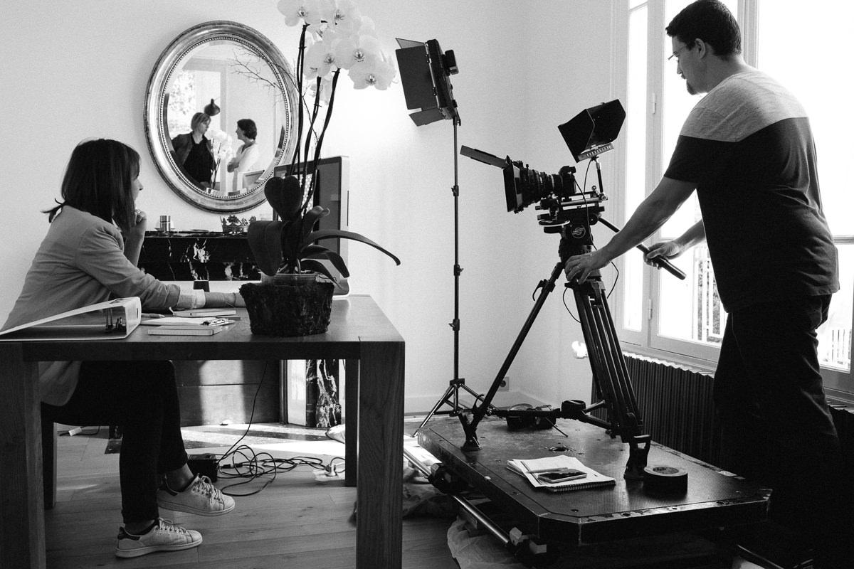 Reportage de tournage publicitaire