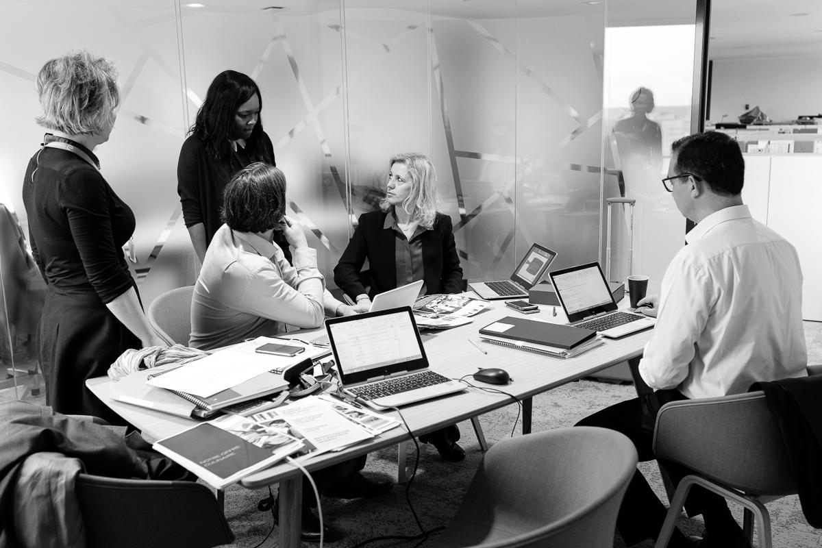 Reportage corporate en réunion